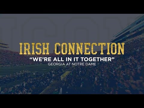 Notre Dame Football ICON - Georgia