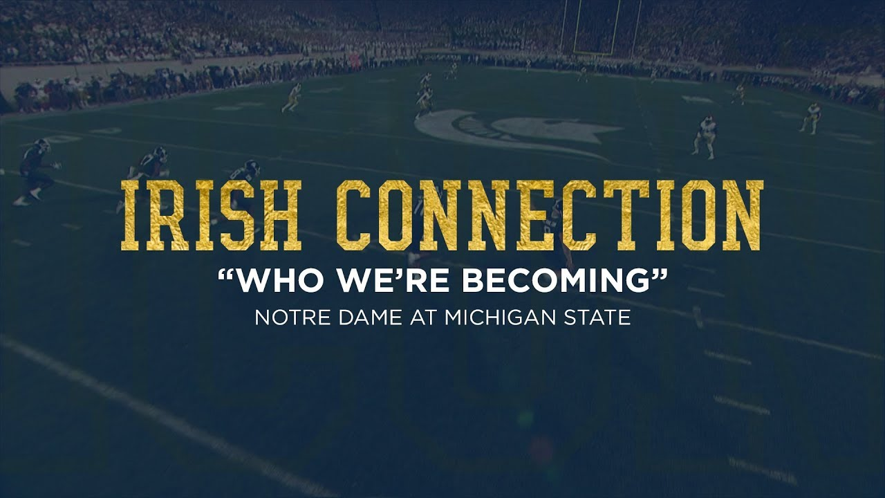 Notre Dame Football ICON - Michigan State