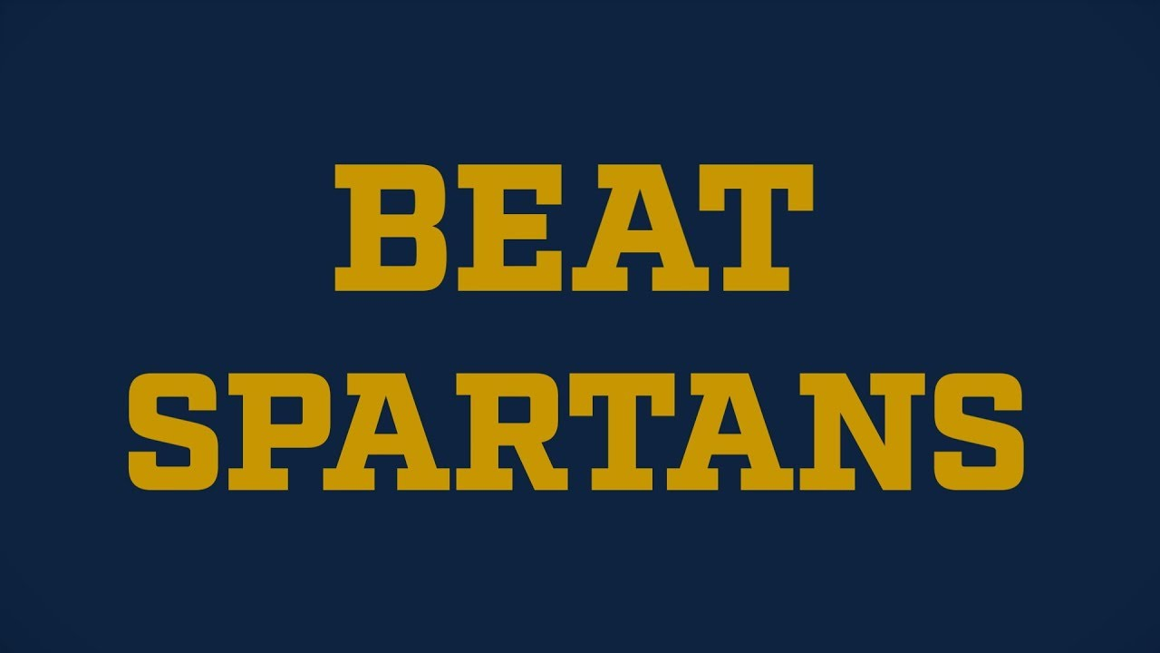 Go Irish, Beat Spartans
