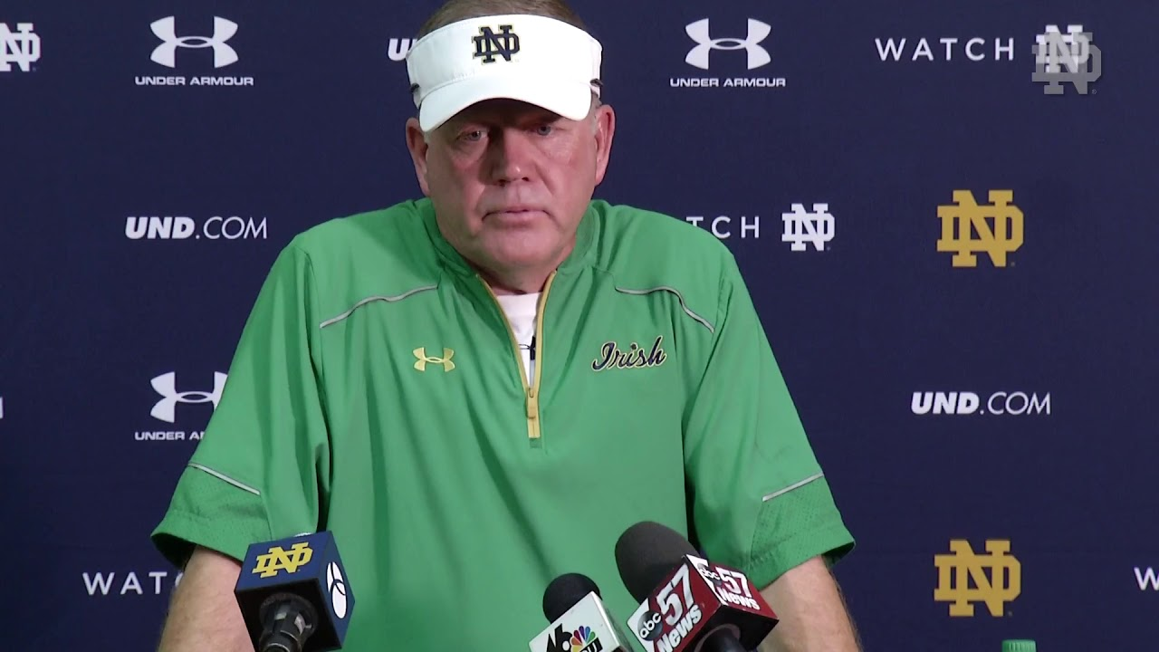 Brian Kelly Press Conference - Michigan State