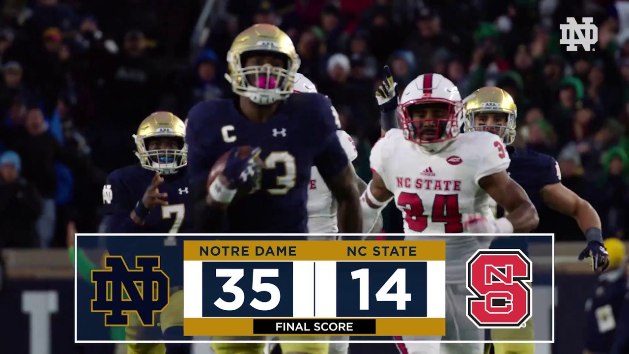 Top Plays | @NDFootball vs. NC State (2017)