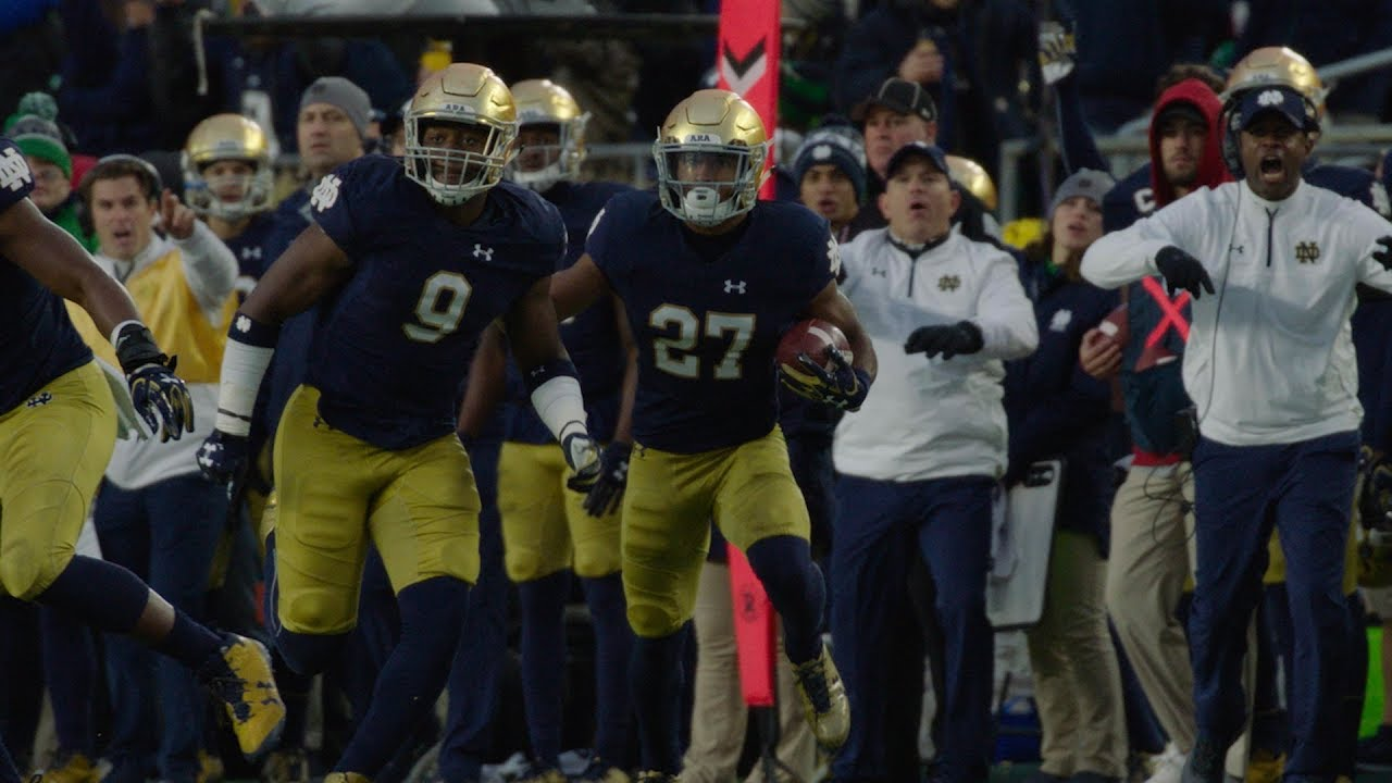 Instant Reaction | @NDFootball vs. NC State: Julian Love (2017)