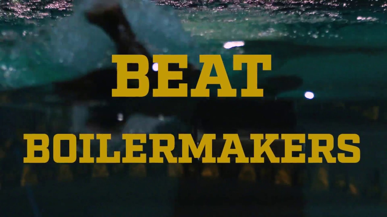 @NDSwimDive | Go Irish, Beat Boilermakers. (2017)