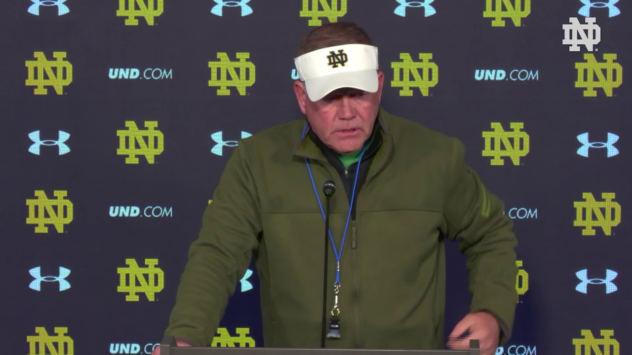@NDFootball Brian Kelly Press Conference - NC State (10.26.17)