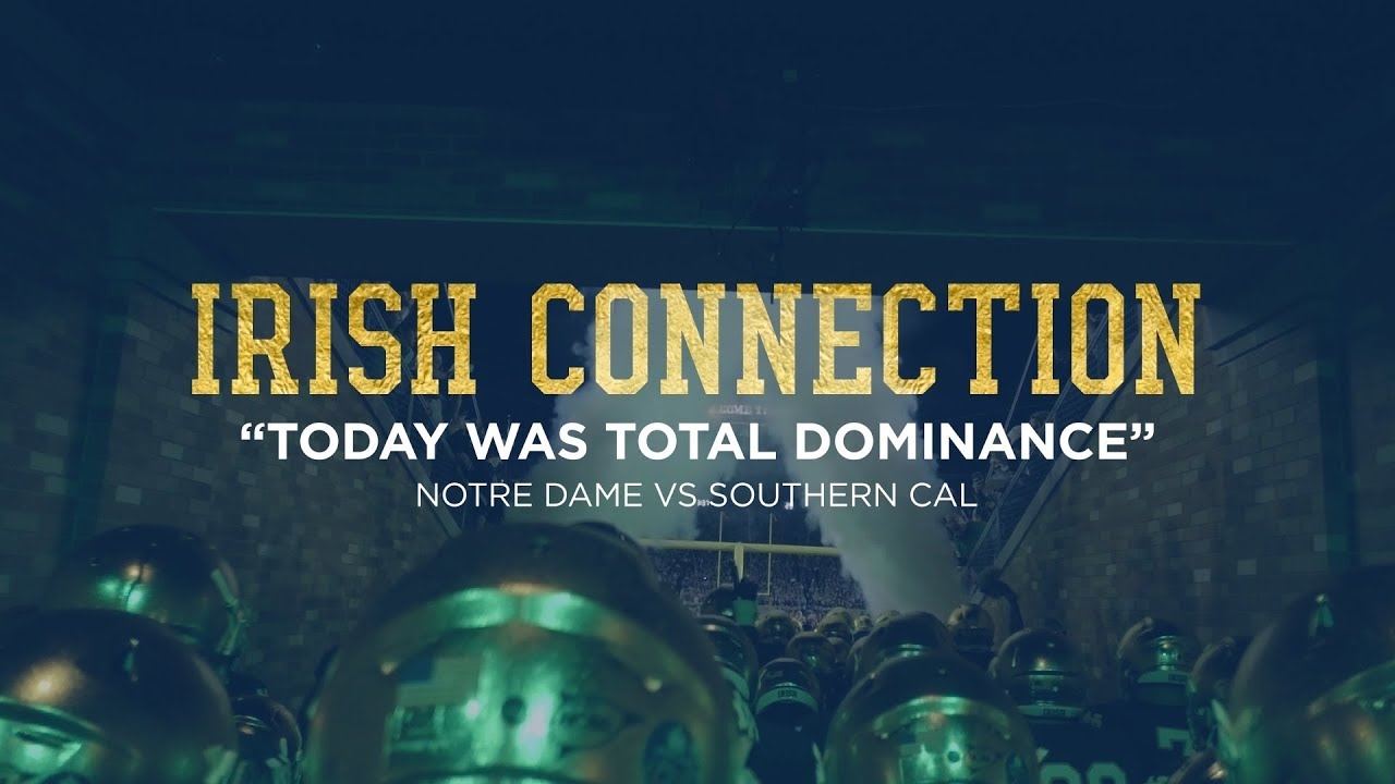 "ICON | @NDFootball vs. USC ""Total Dominance"" (2017)"