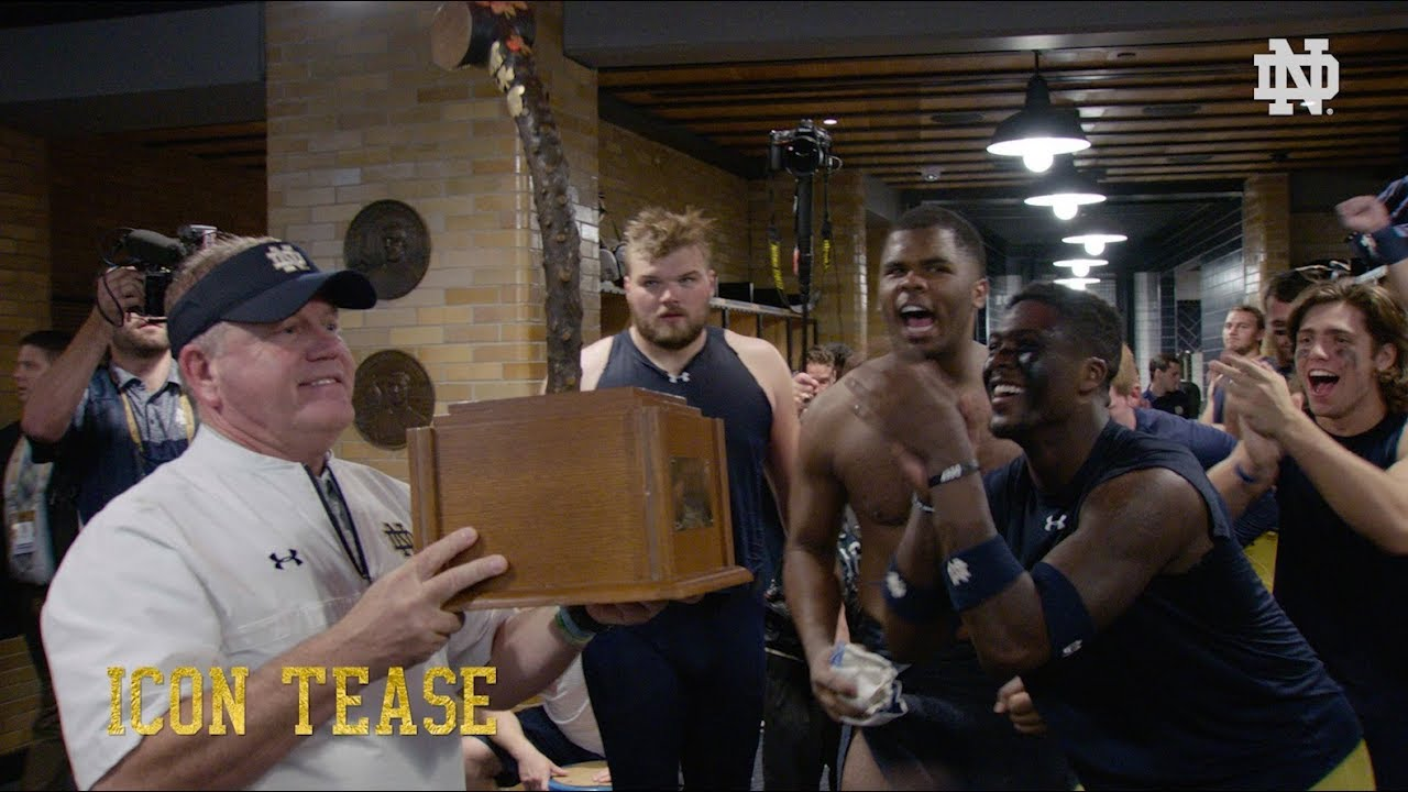 ICON TEASE: @NDFootball vs. USC (2017)