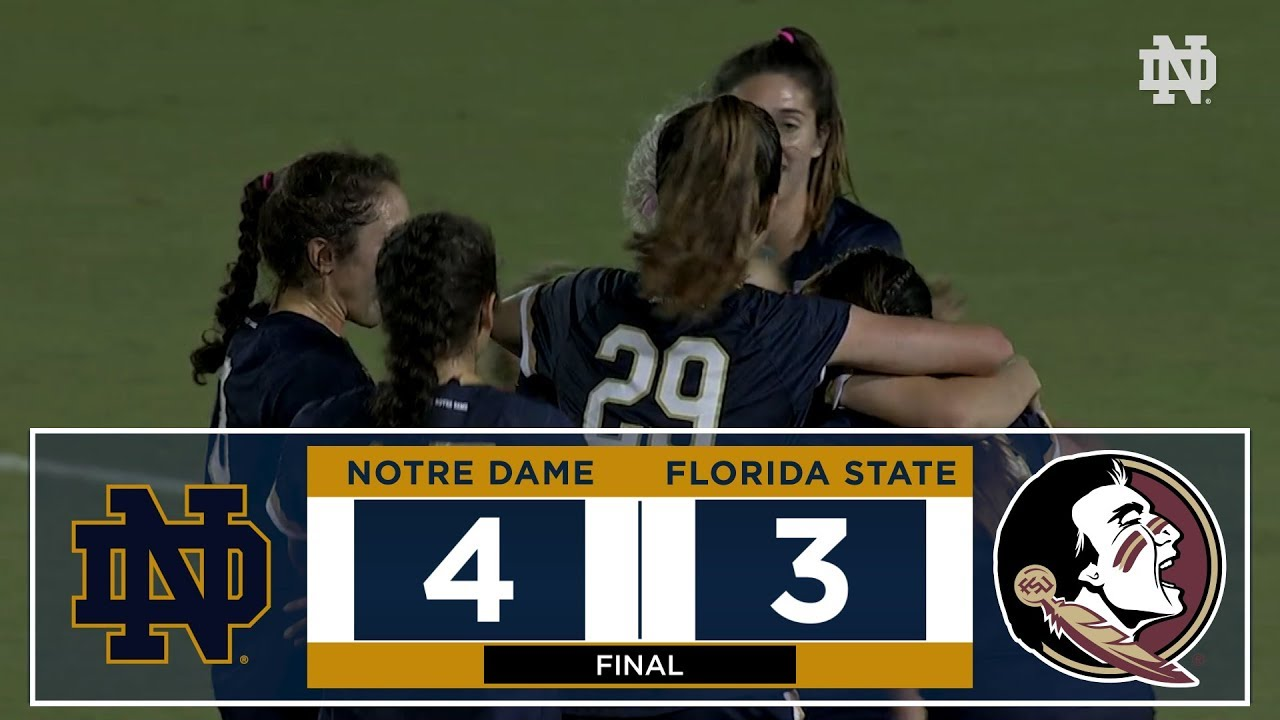 HIGHLIGHTS: @NDSoccer vs. Florida State (2017)