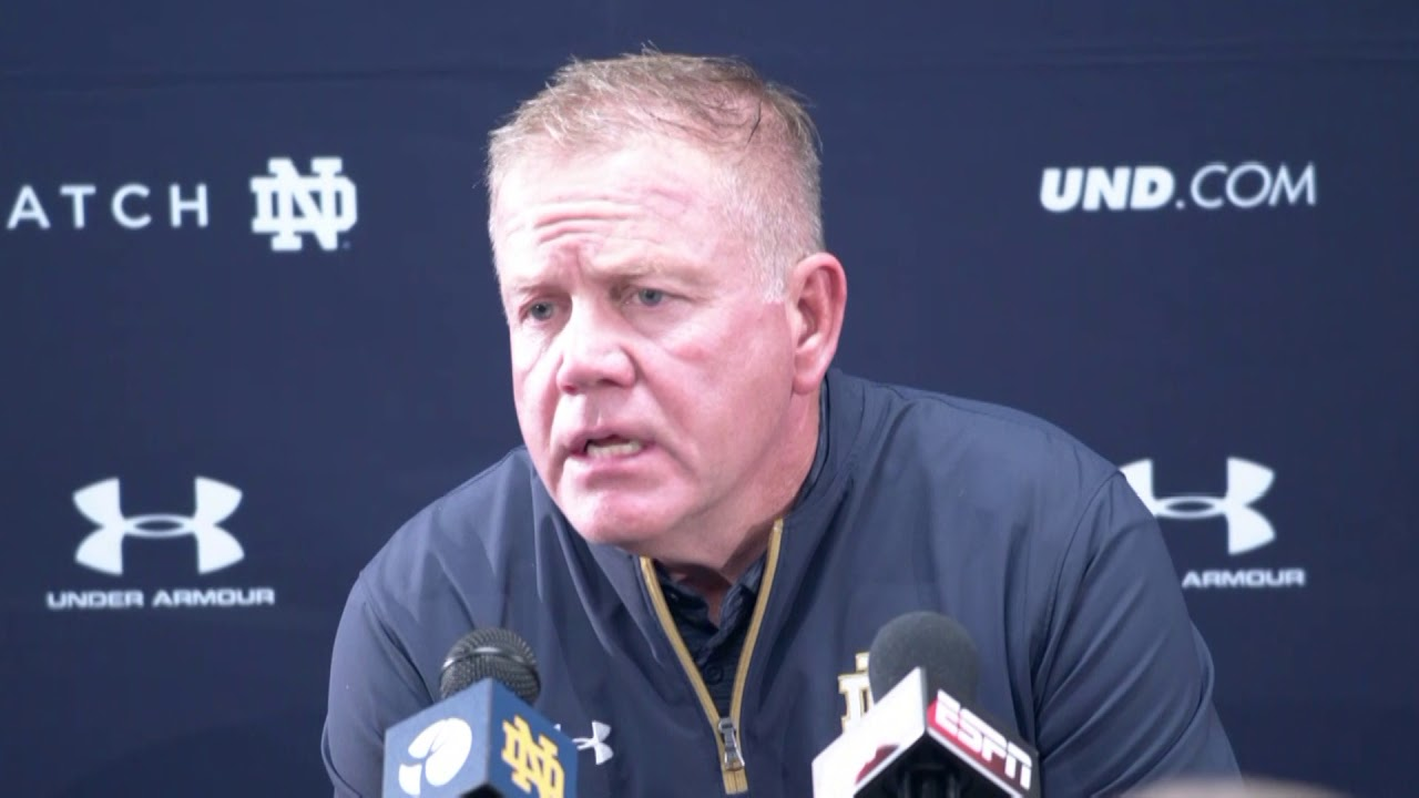 Brian Kelly Post Game Press Conference - October 7th