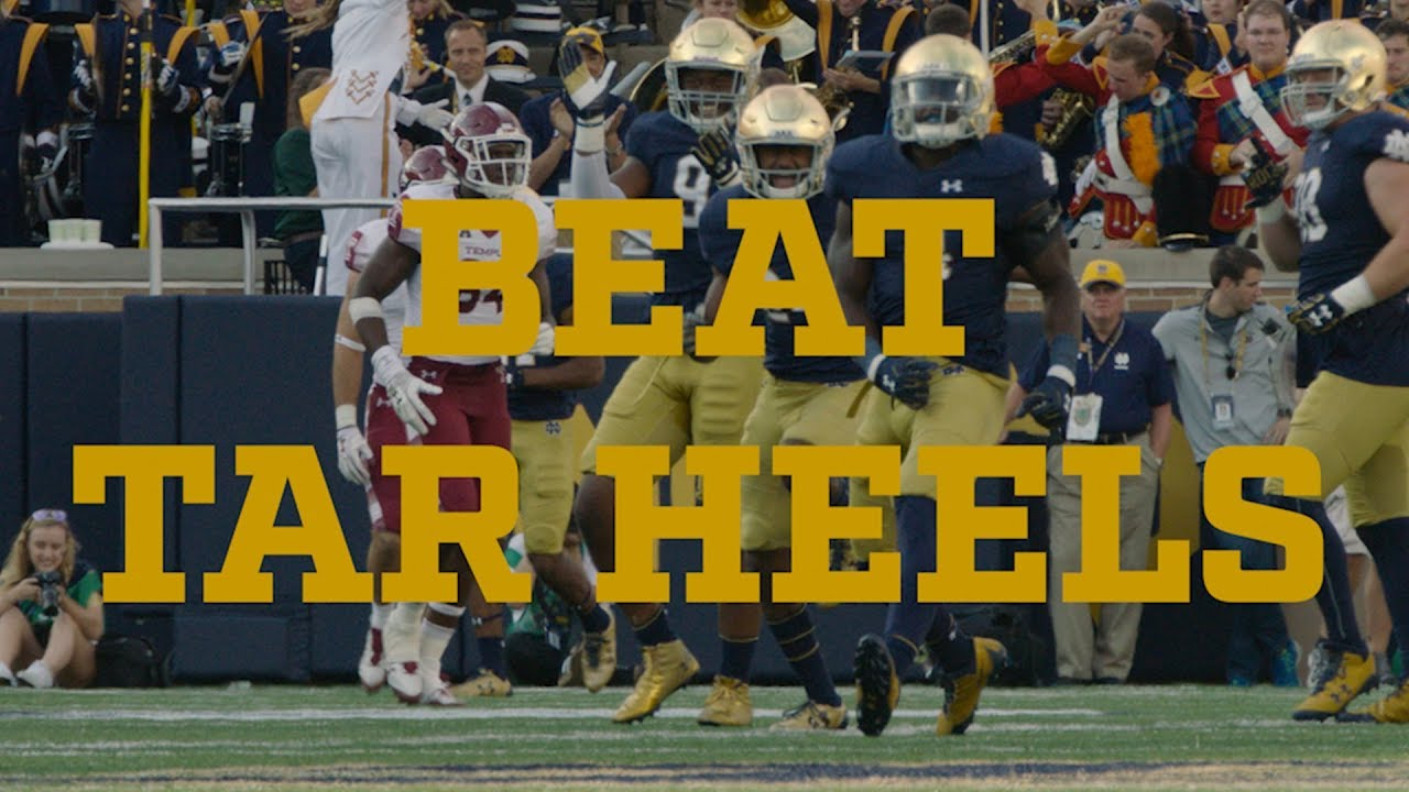 Go Irish, Beat Tar Heels