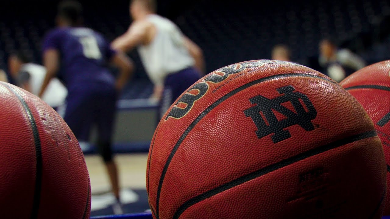 Notre Dame Men's Basketball First Day Of Practice