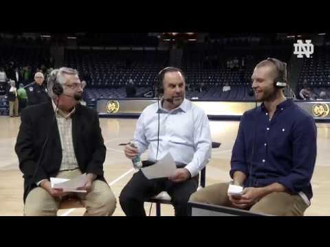 @NDMBB: Post-Game Radio vs. Mount St. Mary's 2017