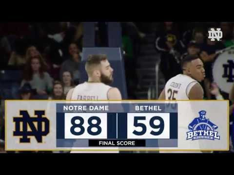 HIGHLIGHTS: @NDMBB vs Bethel