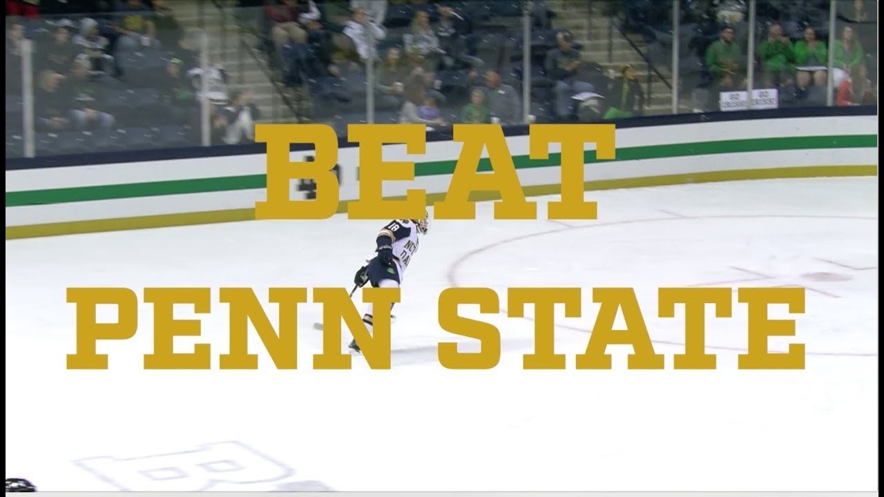 @NDHockey | Go Irish, Beat Penn State. (2017)