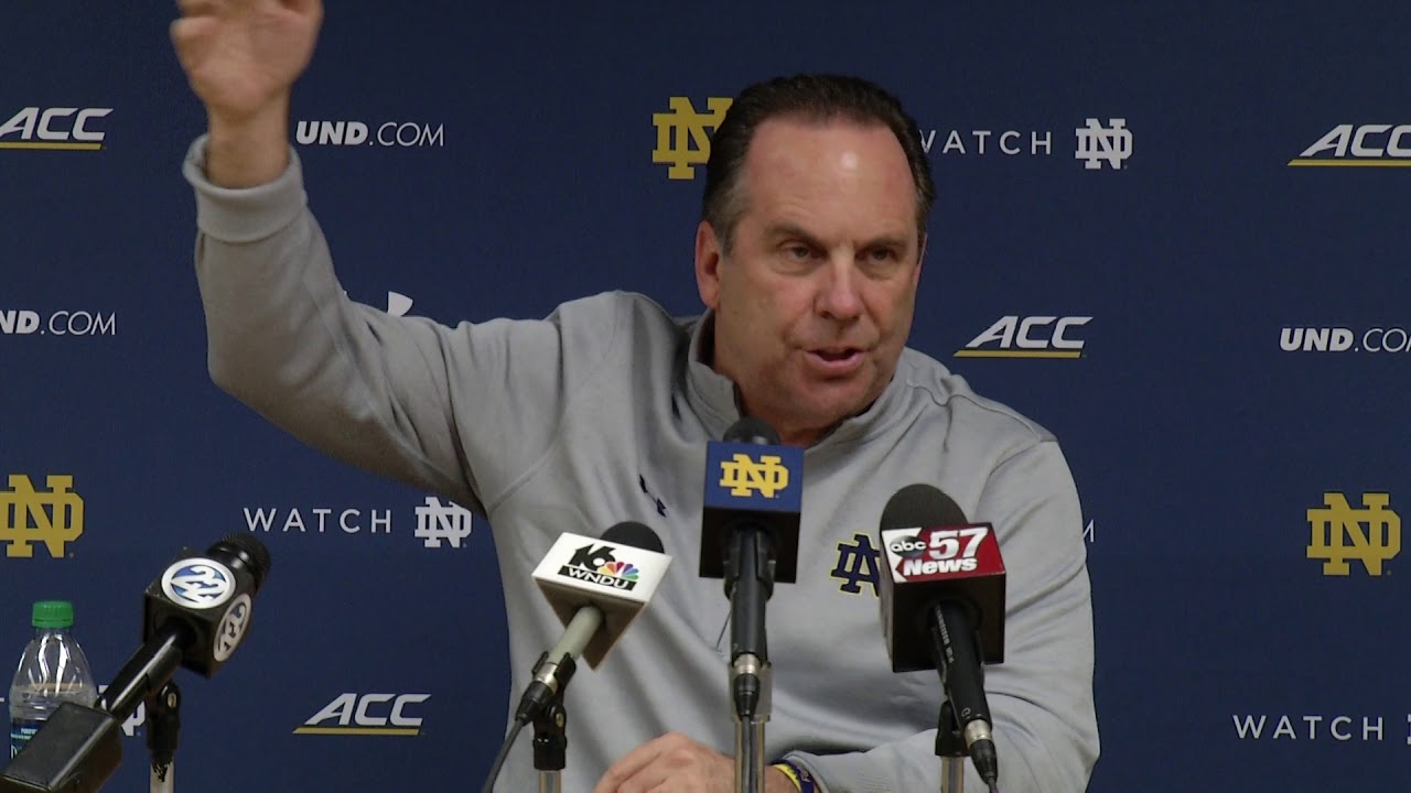 @NDmbb Mike Brey Press Conference - Signing Day (2017)
