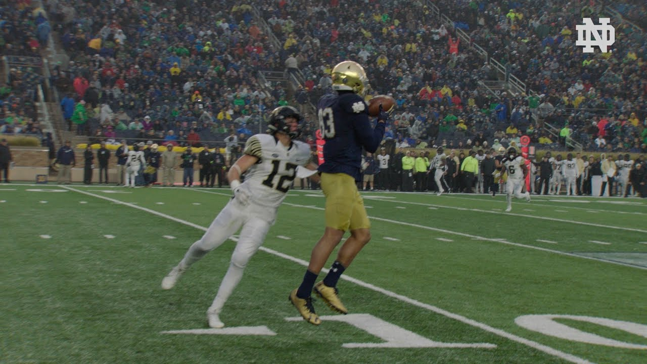 Instant Reaction | @NDFootball vs. Wake Forest: Chase Claypool (2017)
