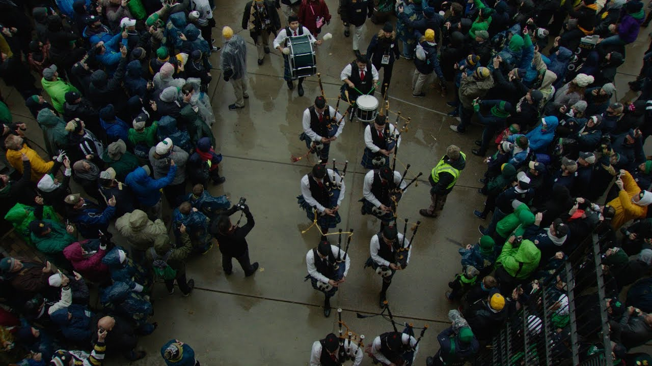 The Arrival | @NDFootball vs. Wake Forest (2017)