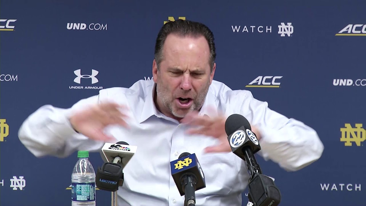 @NDmbb Mike Brey Post-Game Press Conference vs. Southeast Louisiana (2017)