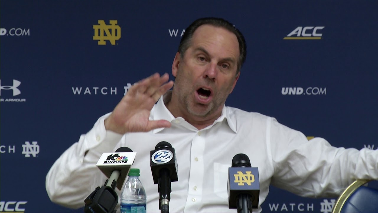 @NDmbb Mike Brey Post-Game Press Conference vs. Dartmouth (2017)