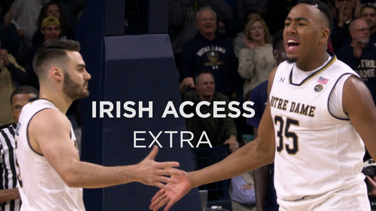 Irish Acces Extra | @NDMBB vs Georgia Tech 12/30/2017