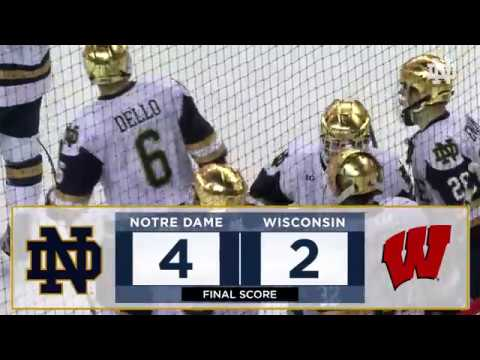 Highlights | @NDHockey vs. Wisconsin (2018)