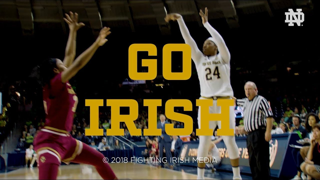 @NDwbb | Go Irish, Beat Lady Vols (2018)