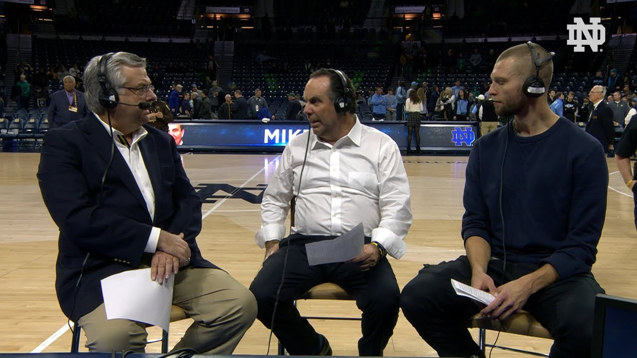 @NDMBB | Mike Brey Post Game Radio vs North Carolina 2018