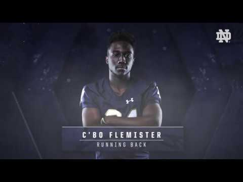 C'Bo Flemister Highlights | @NDFootball Signing Day (02.07.18)