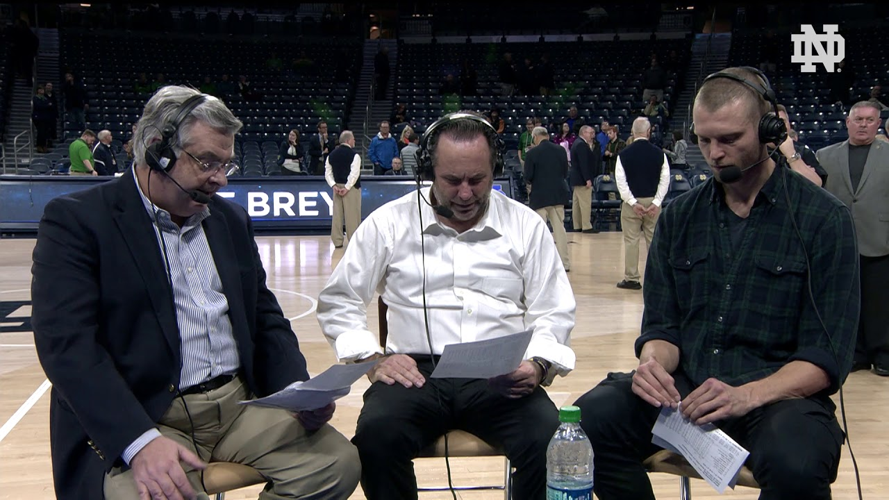 @NDMBB | Mike Brey Post-Game Radio vs. Miami (2018)