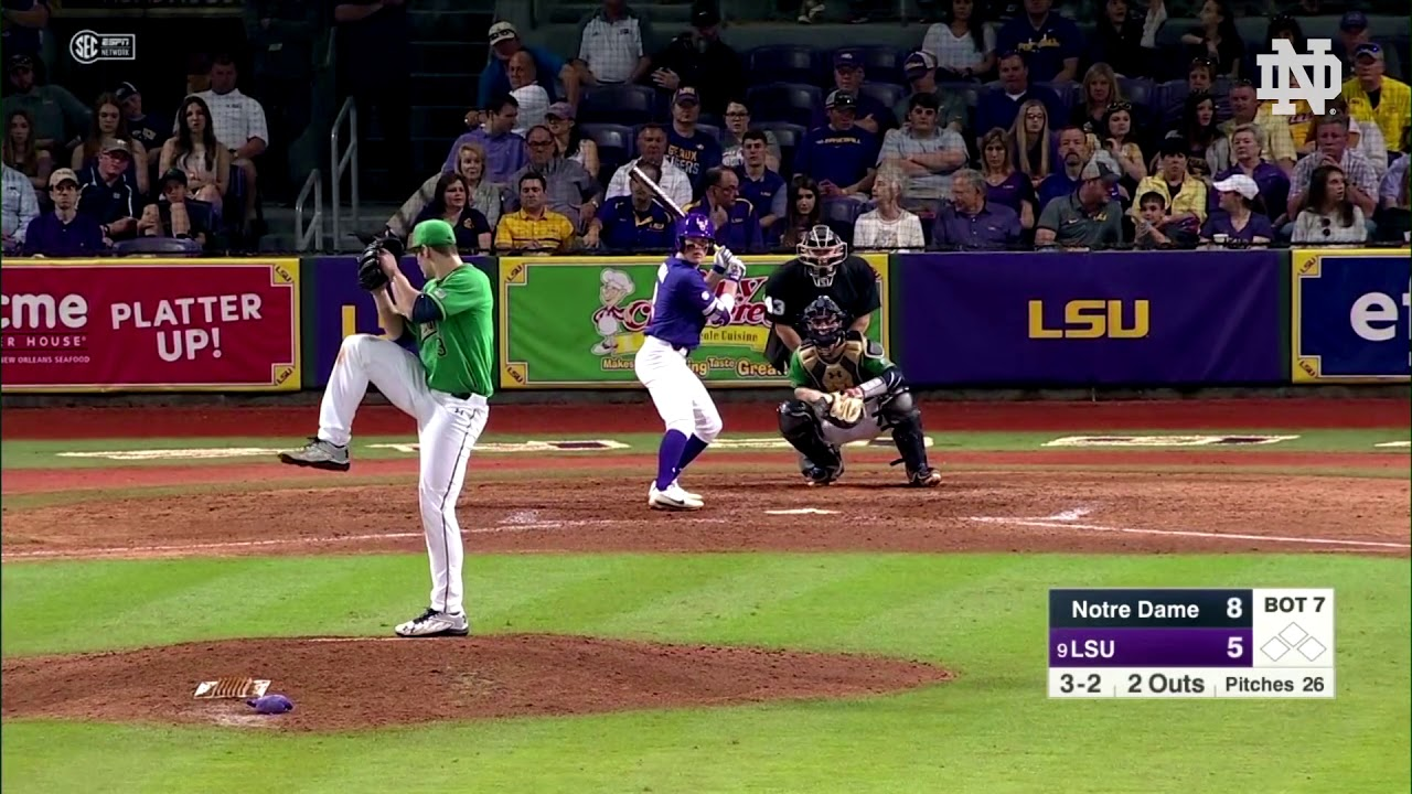 Highlights | @NDbaseball at LSU (2018)
