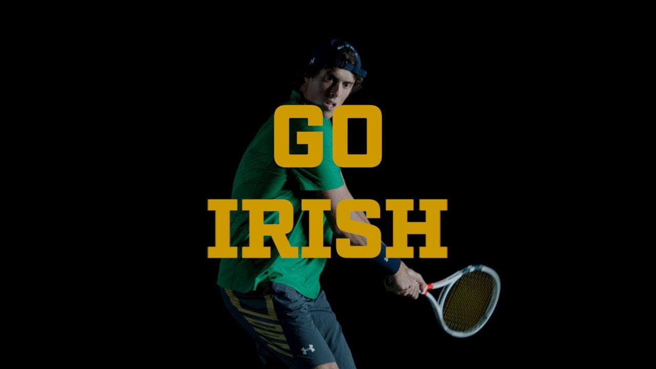 @NDMensTennis | Go Irish, Beat Tar Heels 2018