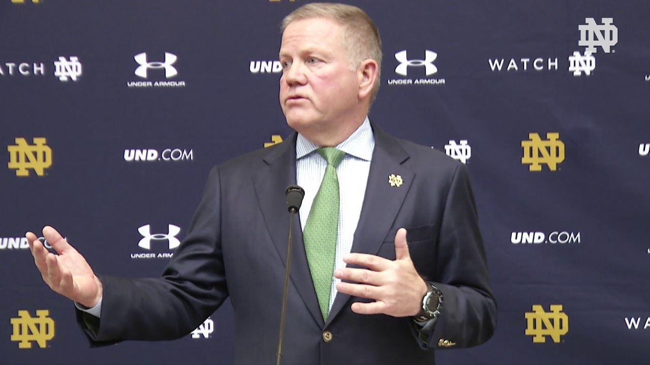 Coach Kelly Press Conference | @NDFootball Signing Day (02.07.18)