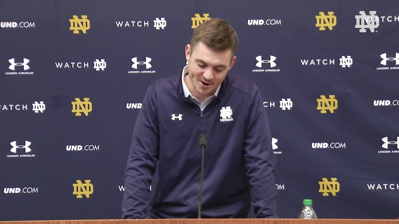 Coach Rees Press Conference | @NDFootball Signing Day (02.07.18)