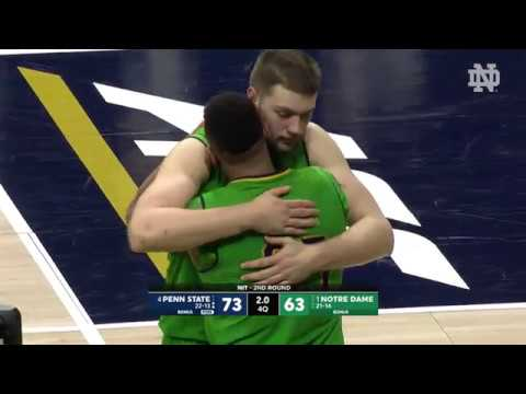 Highlights | @NDmbb vs. PSU, NIT Tournament (2018)