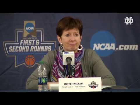 @ndwbb Post-Game Press Conference vs. CSUN - NCAA Tournament (03.16.18)
