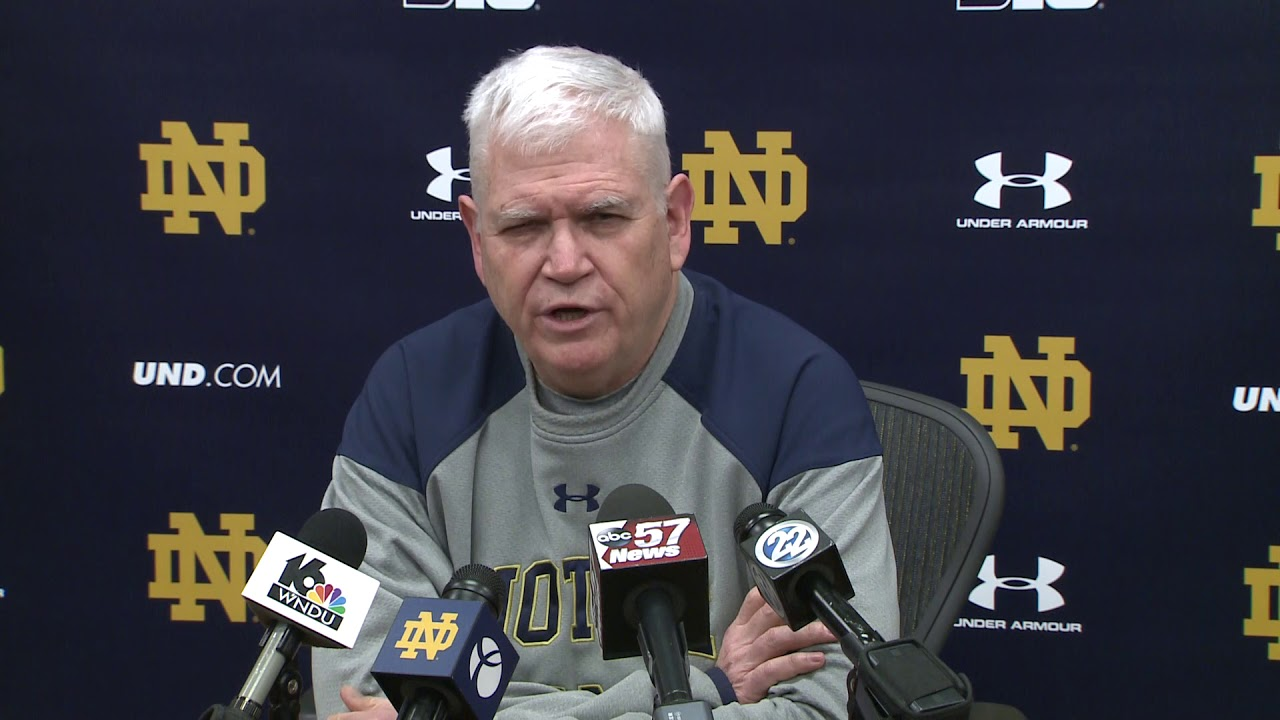 @NDHockey Press Conference - Frozen Four (03.28.18)