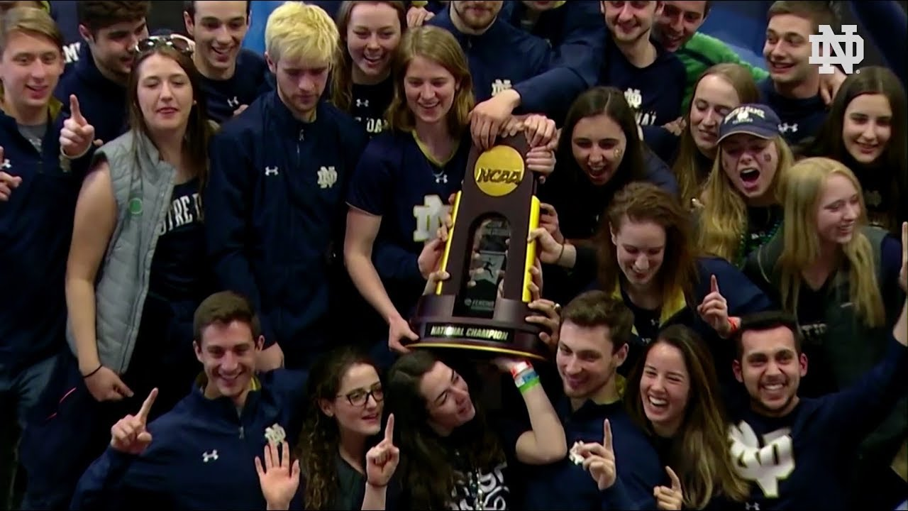 Highlights | @NDFencing NCAA Championship Ceremony (2018)
