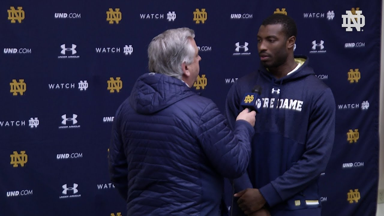 @NDFootball Miles Boykin Press Conference (03.24.18)