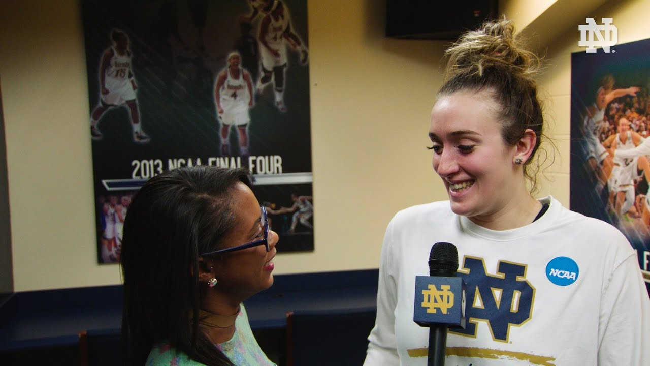Instant Reaction | @ndwbb vs. CSUN: Marina Mabrey - NCAA Tournament (2018)