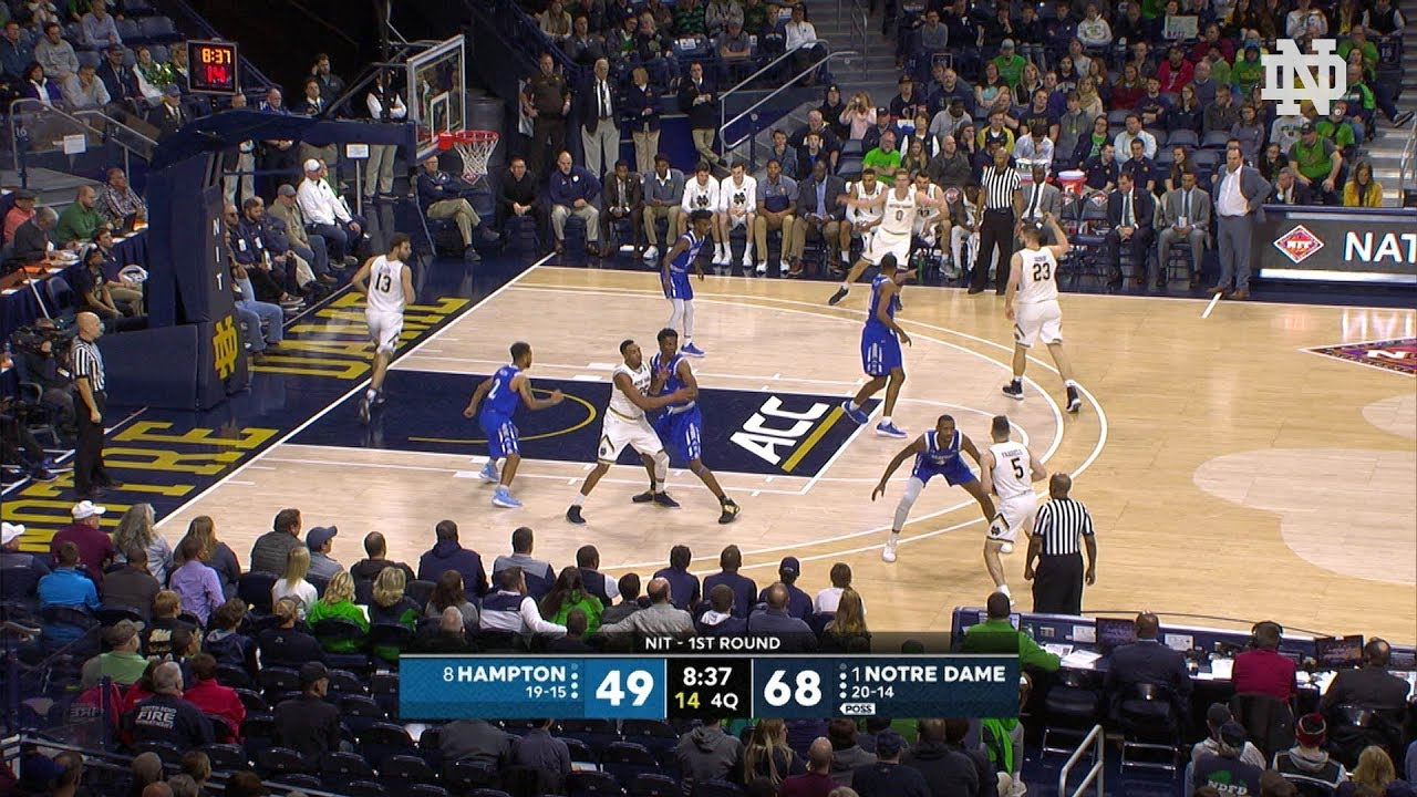 Highlights | @NDmbb vs. Hampton (2018)