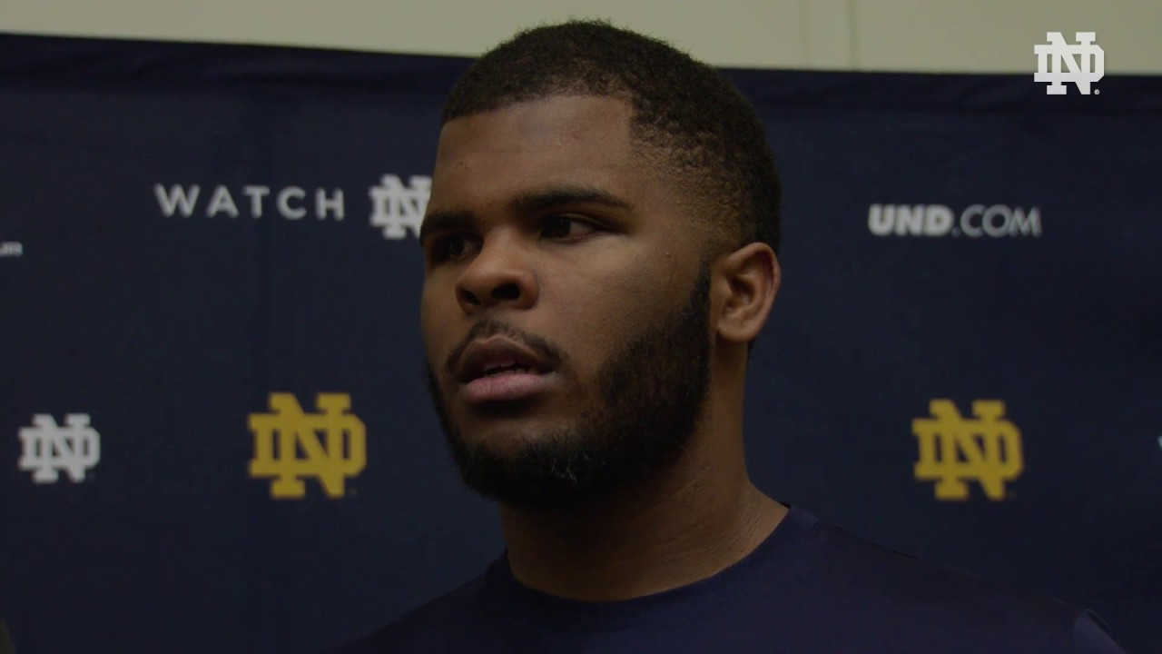 @ndFootball Exclusive: Jerry Tillery Interview