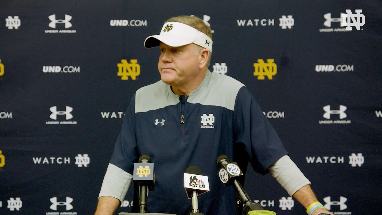 @ND Football Brian Kelly Press Conference (04.07.18)