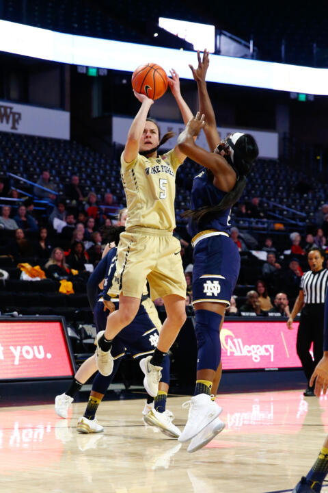 ND WBB vs. Wake Forest (USATSI)