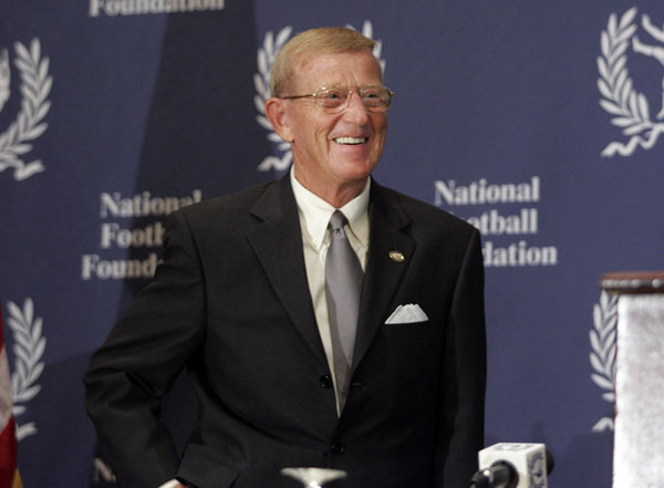 Lou Holtz Named To College Football Hall Of Fame