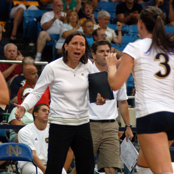 Notre Dame takes on Valparaiso in the Shamrock Invite