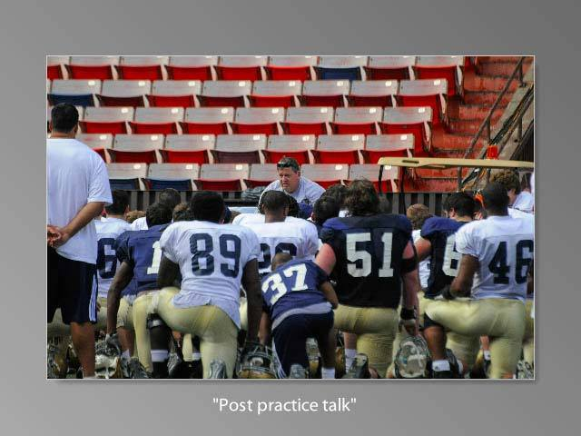Notre Dame Football - Sunday Practice