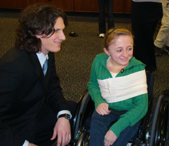 Jeff Samardzija speaks at Opening Night Baseball Dinner