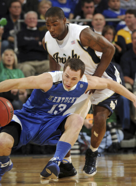 Irish Top Kentucky, 77-67