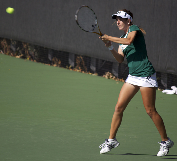 Women's Tennis in the Eck Classic