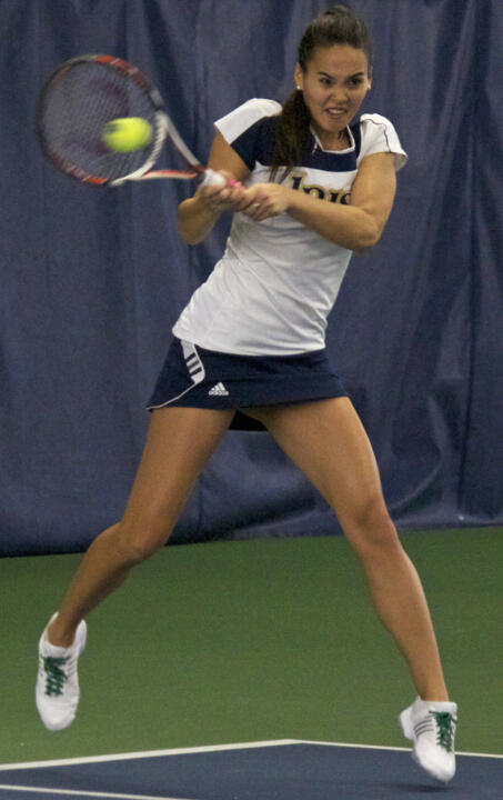 1/22 Women's Tennis vs Missouri