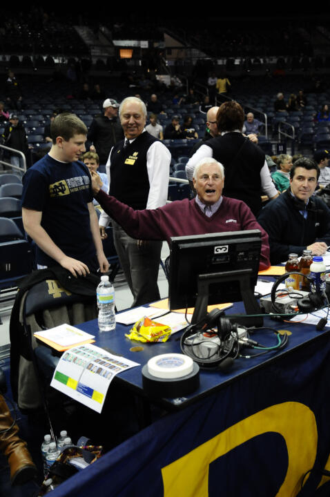 Notre Dame Men's Basketball vs West Virginia on February 22nd, 2011
